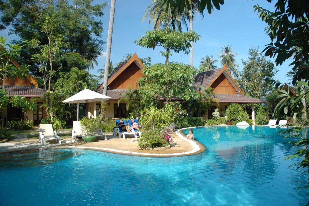palm garden phuket pool